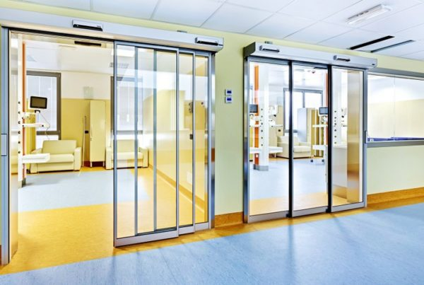 Automatic Sliding Door in Motion